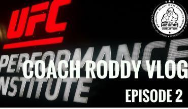 McGregor v Mayweather Coach Roddy's Vlog part 2.