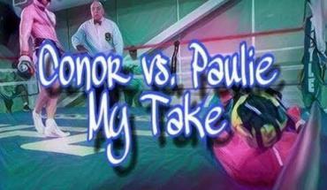 Conor McGregor vs. Floyd Mayweather paulie.