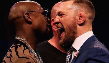Mayweather vs. Conor McGregor fight interview.