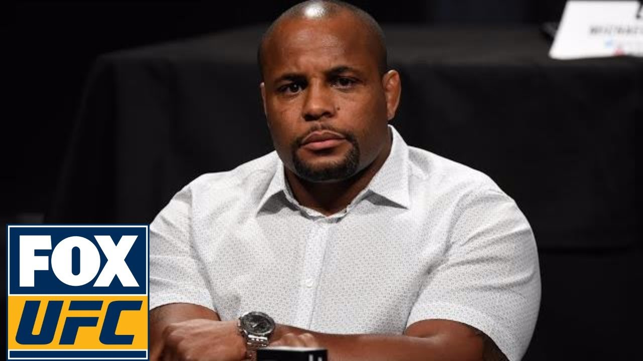 Daniel Cormier sits and contemplates his future.