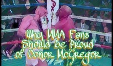 Conor McGregor fans proud.