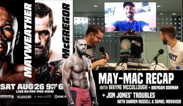 Mayweather-McGregor special episode.