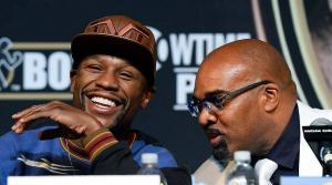 Floyd Mayweather post fight presser.