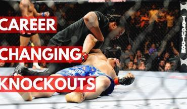 Knockouts in the UFC.