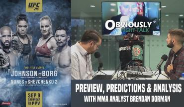 UFC 215 preview & predictions.