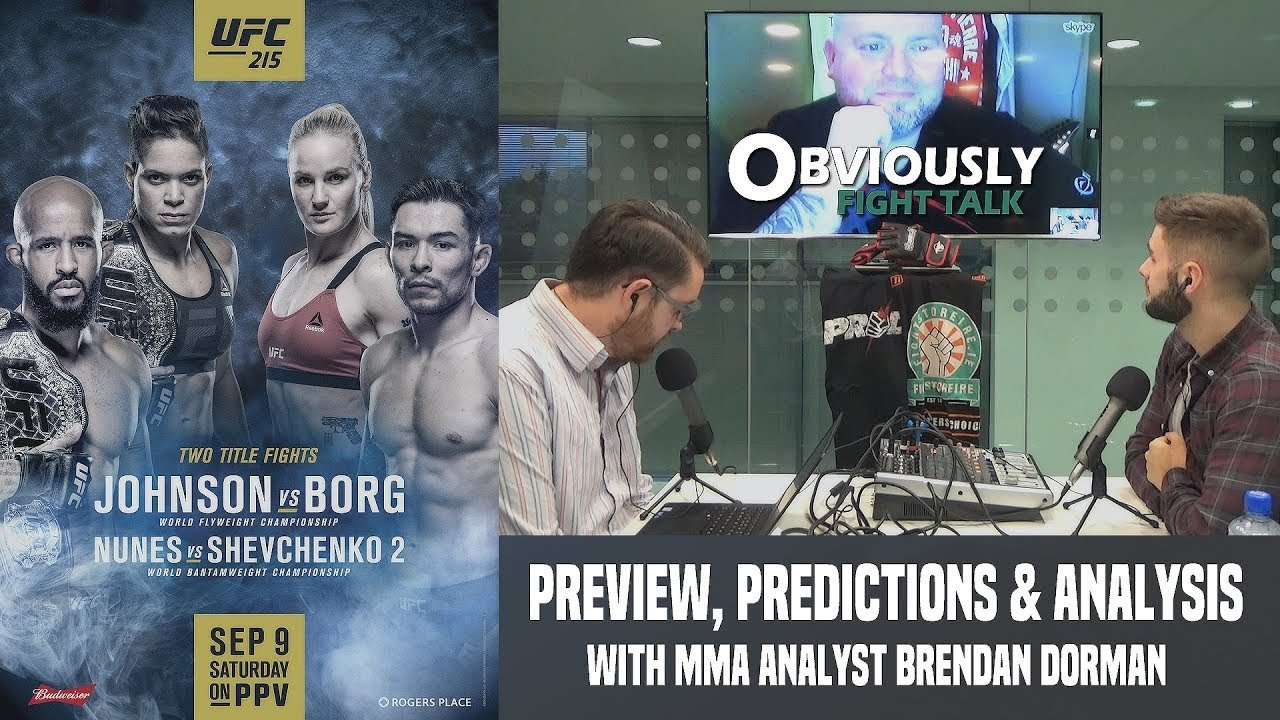 UFC 215 preview & predictions.