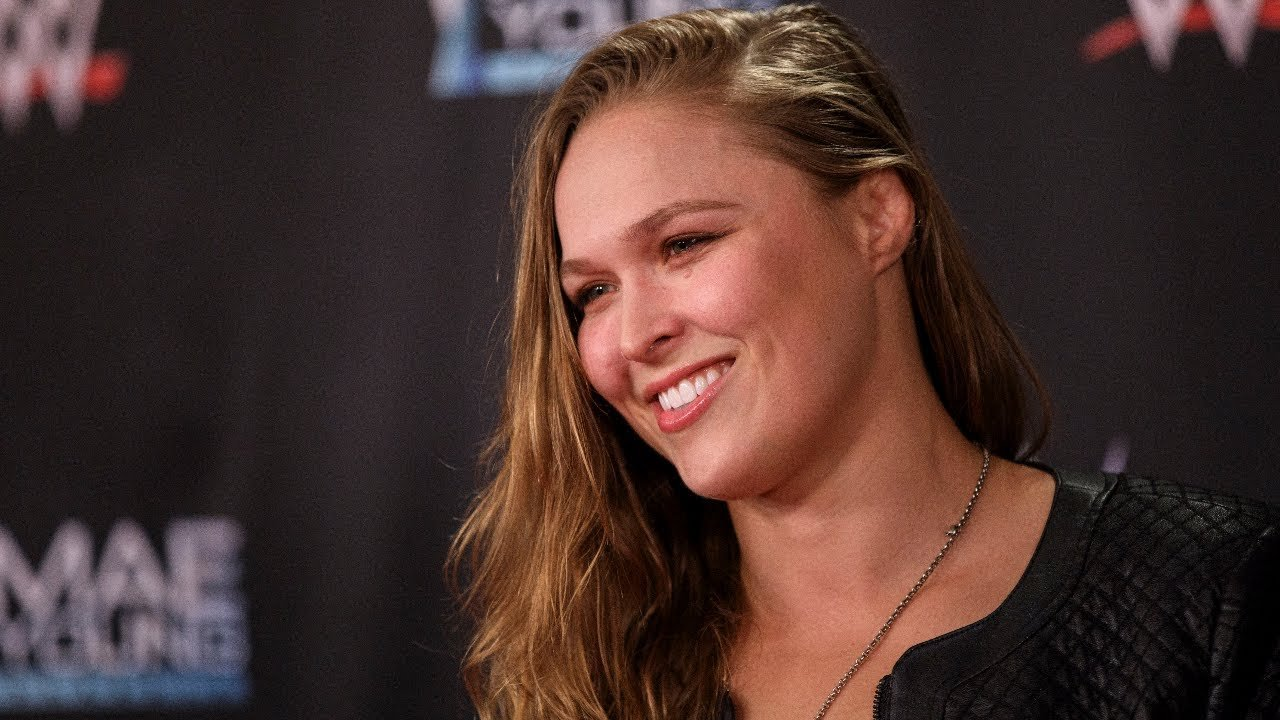 Ronda Rousey talks wrestling.