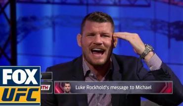 Michael Bisping responds to Luke Rockhold.