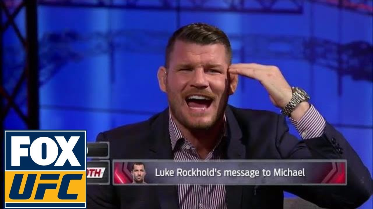 Michael Bisping responds to Luke Rockhold.