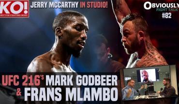 UFC 216, Mark Godbeer and more.