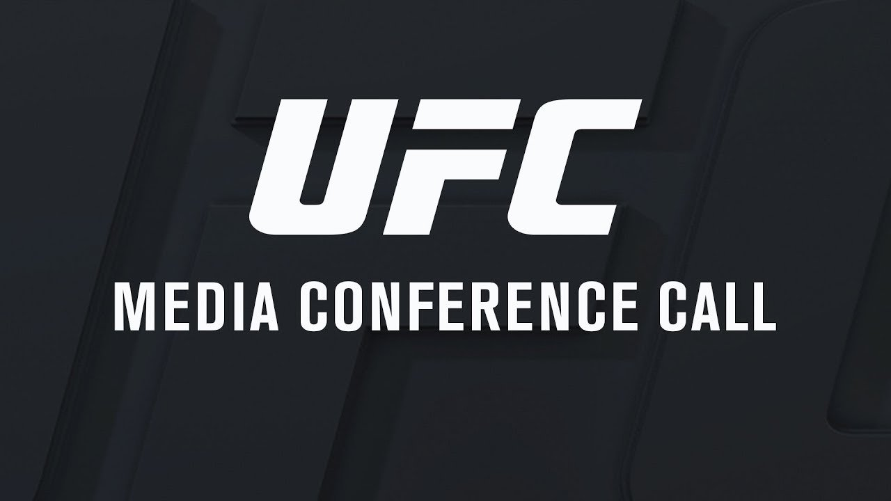 UFC 216 media conference call.