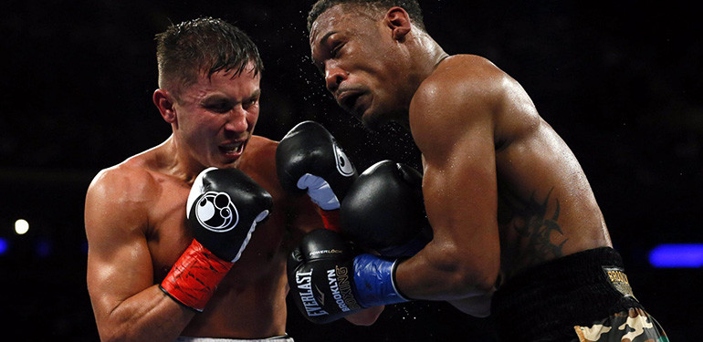 Gennady Golovkin vs. Daniel Jacobs full fight.
