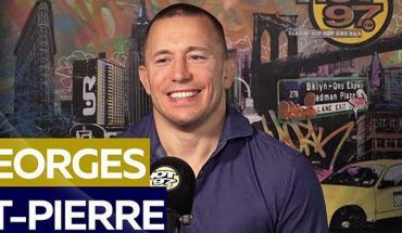 Georges st pierre GSP hot 97.
