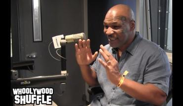 Mike Tyson podcast interview.
