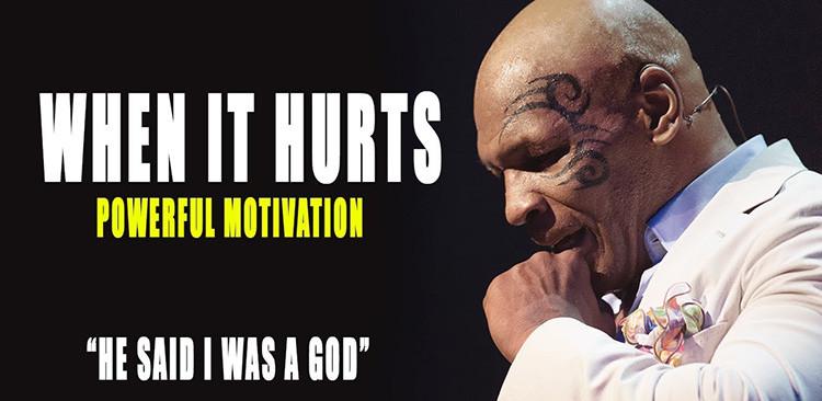 Mike Tyson motivational talk.