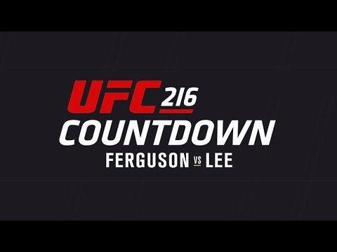 UFC 216 Tony Ferguson vs Kevin Lee.