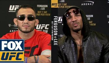Tony Ferguson and Kevin Lee interview.