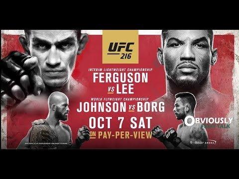 UFC 216 preview show.