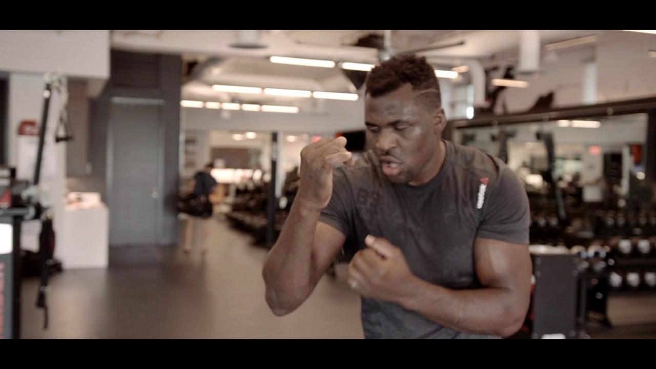 Francis Ngannou UFC heavyweight.