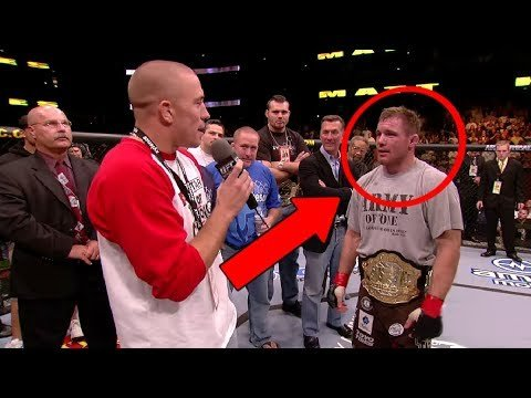 Georges St Pierre funny moments.