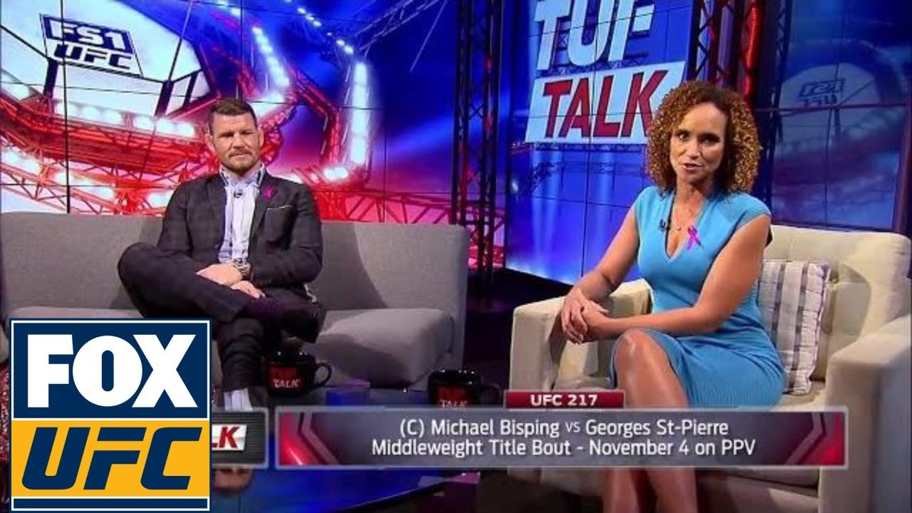 Michael Bisping Talks Georges St Pierre.