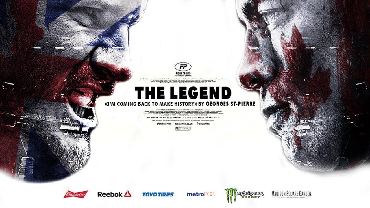 Michael Bisping Vs Georges St Pierre Legend.