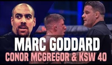 Conor McGregor vs Marc Goddard UFC Gdansk.