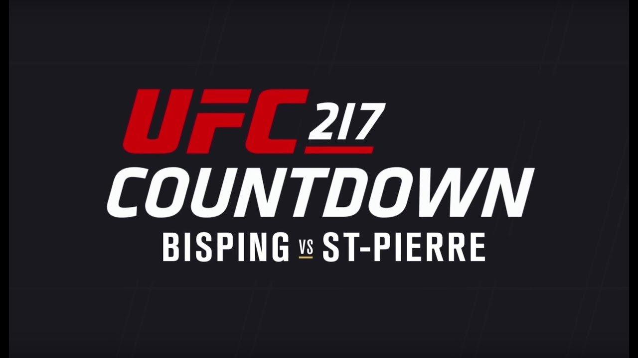 UFC 217 Michael Bisping vs GSP Countdown show.