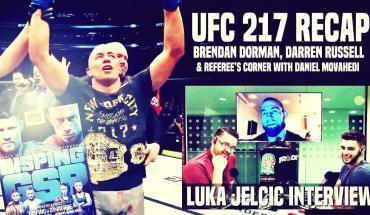 UFC 217 recap show.