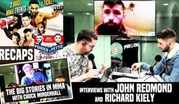 Bellator 187 John Redmond.