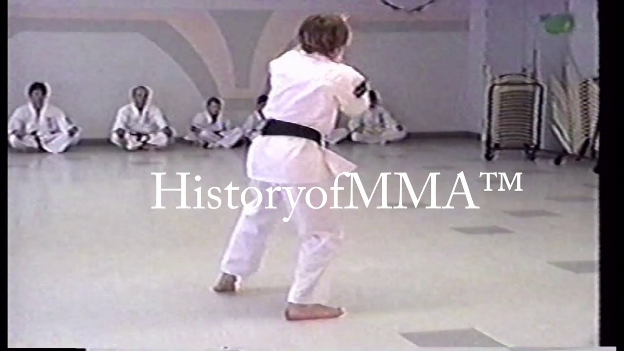 Georges St-Pierre 13 training Kyokushin Karate.