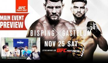 UFC Shanghai preview show.