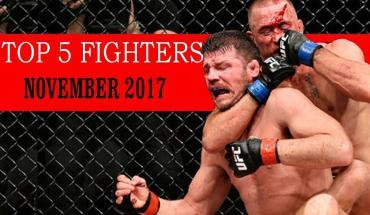 Top 5 fighters for November 2017.