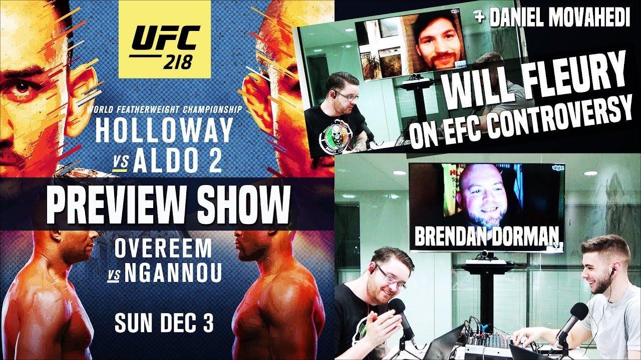 UFC 218 preview show.
