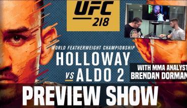 UFC 218: Holloway vs. Aldo preview.