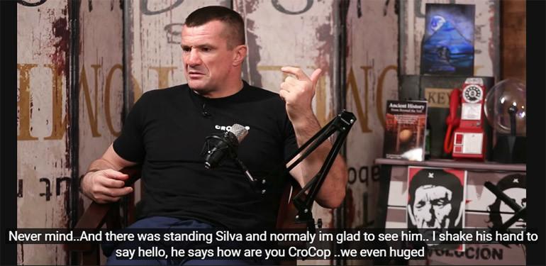 Mirko Cro Cop Talks Friends And Opponents.