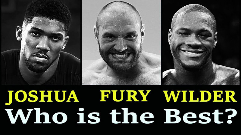 Anthony joshua best heavyweight.