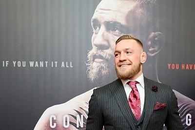 Conor McGregor at Notorious movie Premiere.