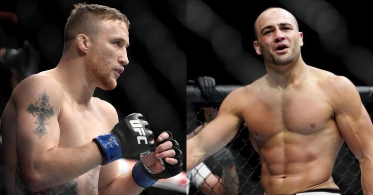 Justin Gaethje takes on Eddie Alvarez fight.