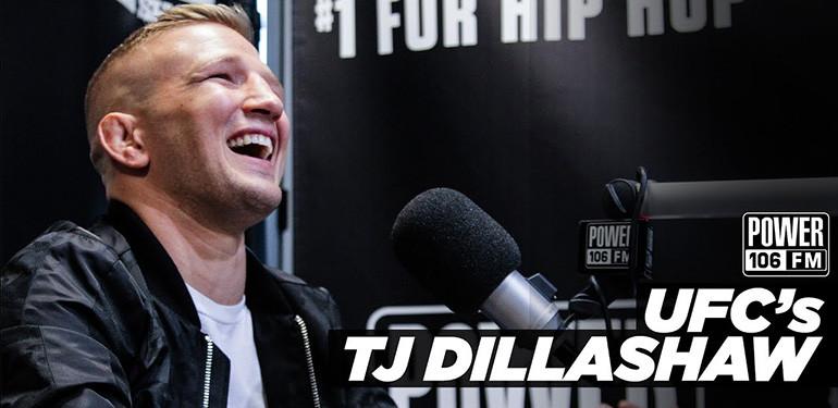 tj dillashaw power 106 interview.