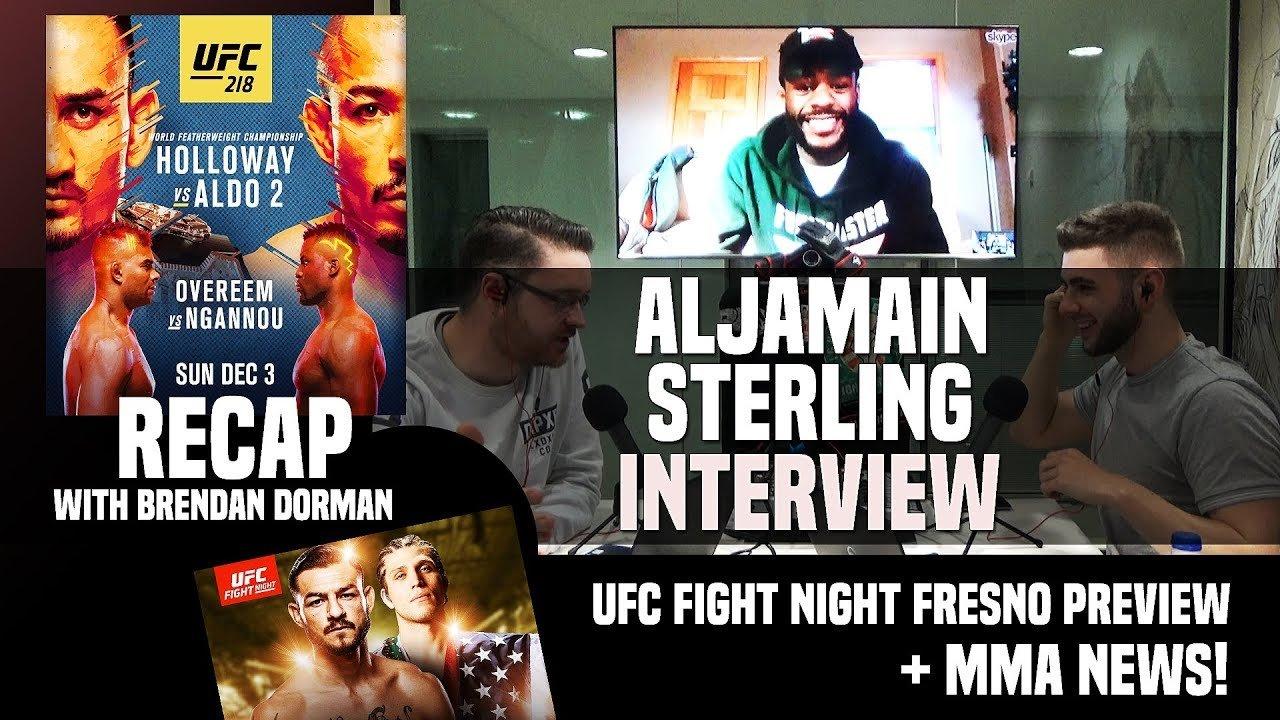 UFC 218 recap show and UFC Fresno.