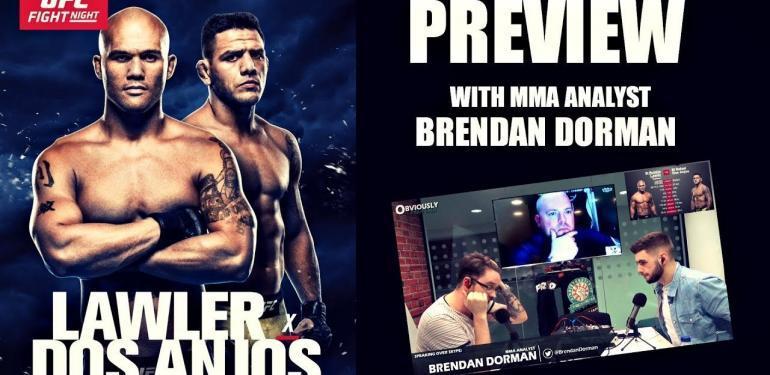 Lawler vs. dos Anjos (AKA UFC on FOX 26 predictions.