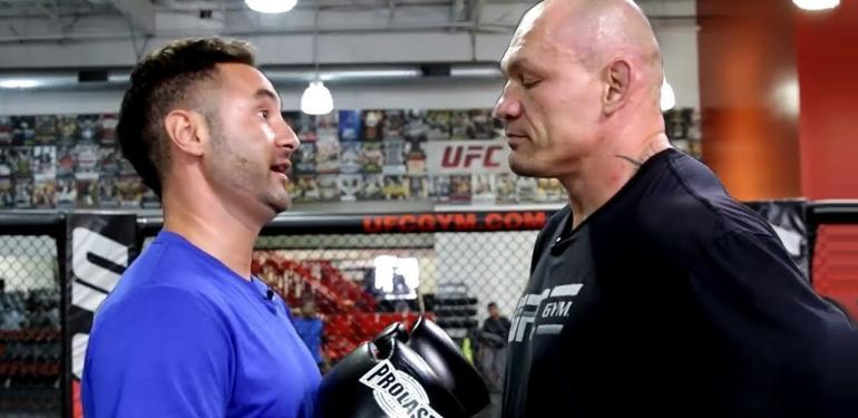 UFC Fighters against Normal People..