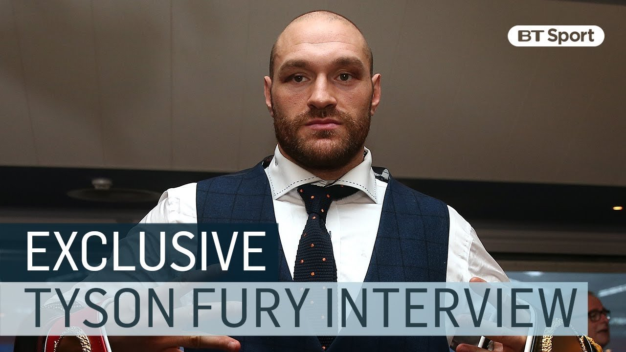 Tyson Fury on his return to boxing.