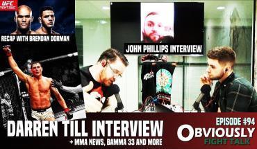 Darren Till & John Phillips Interviews interviews.