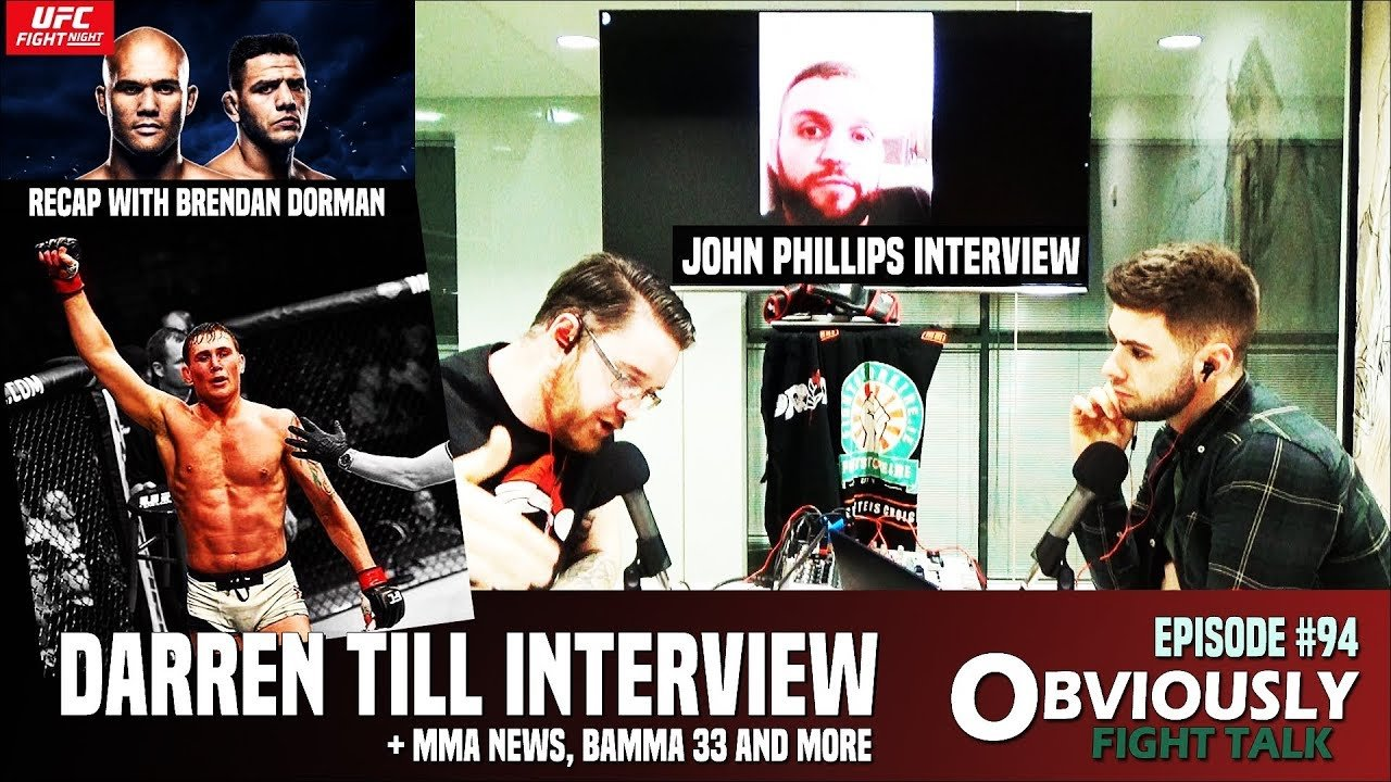 Darren Till & John Phillips Interviews interviews.