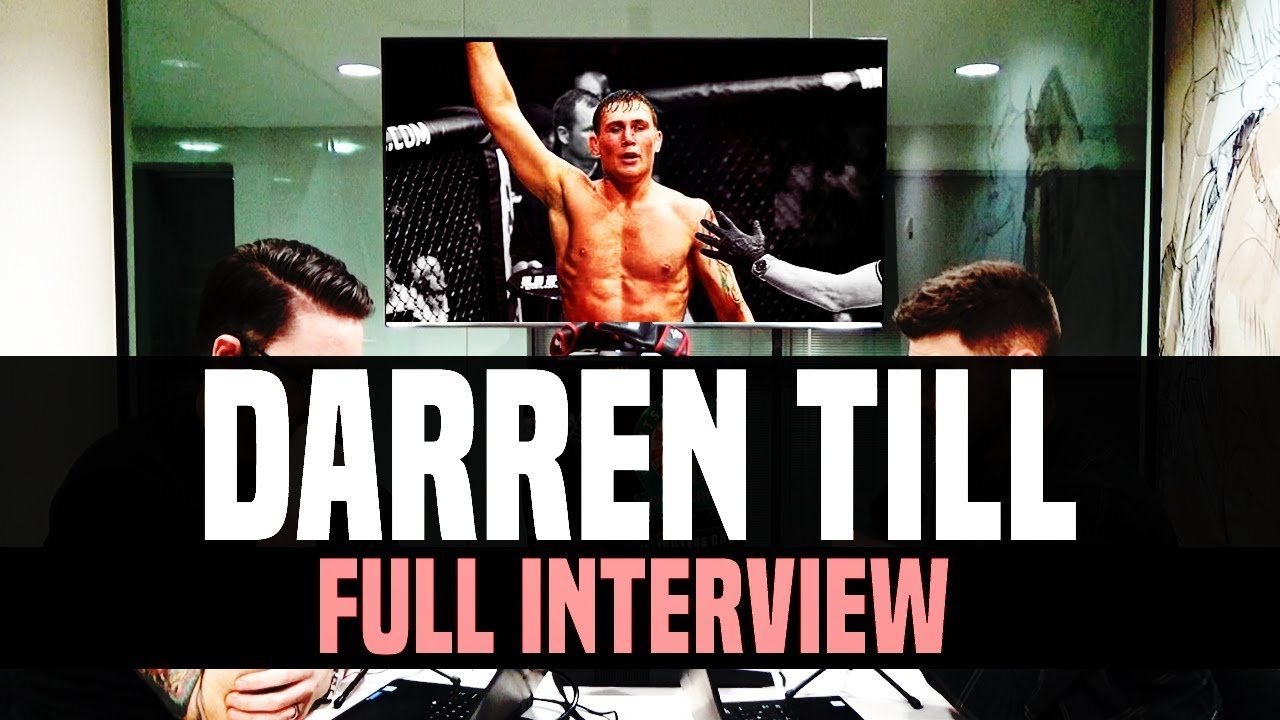 Darren Till talks opponents.
