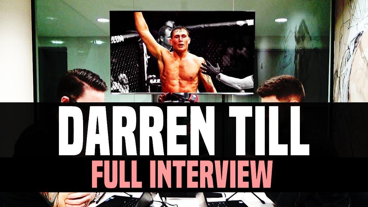 Darren Till Talks Opponents.