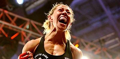 Cris Cyborg wins in invicta fighting championships.
