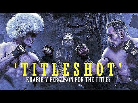 Ferguson vs McGregor titleshot.